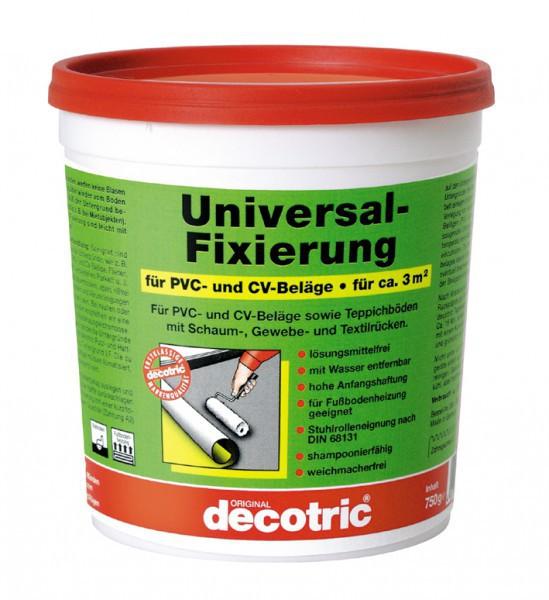 (13,63€1kg) decotric Fixierung für Teppich und PVC 0,75
