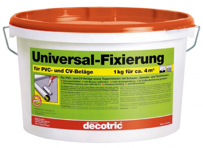 decotric Fixierung für Teppich und PVC 10 kg Haus & Garten