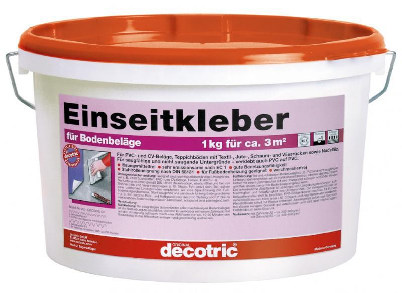 decotric Einseitkleber für Teppich und PVC 10 kg Haus